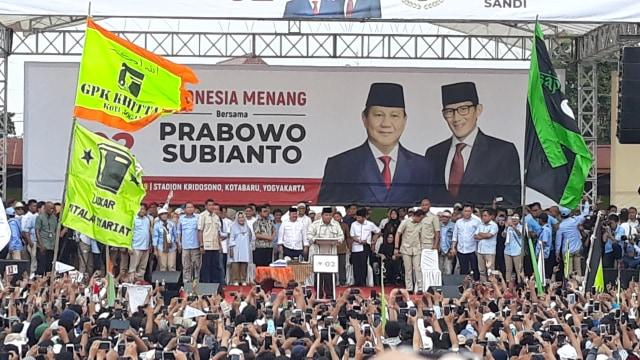 6 Fakta soal Aksi Prabowo Gebrak Meja di Yogyakarta (84698)