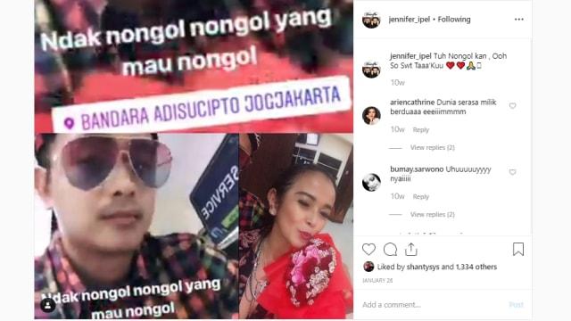 Ajun Perwira dan Jennifer Supit