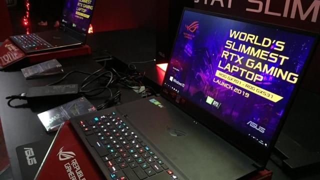 Asus Bawa Laptop Gaming Tertipis Dunia Ke Indonesia Harga Rp 56 Juta Kumparan Com