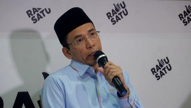 TGB di Pidato Kemenangan Jokowi: Kita Akan Simak Aura Optimisme (57230)