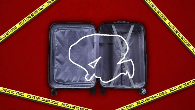 Ilustrasi misteri mayat dalam koper