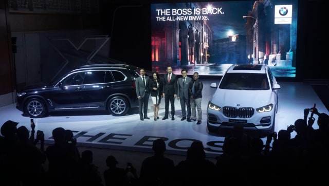 Launching All New BMW X5