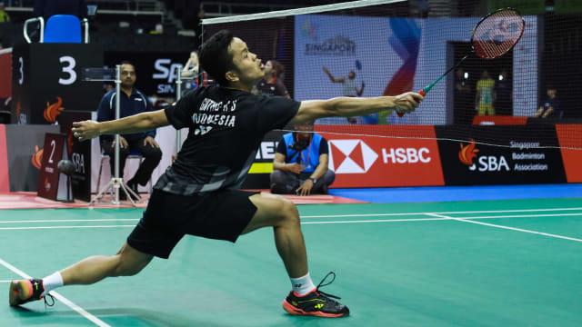 Anthony Ginting Menapak Final Singapura Terbuka (41496)