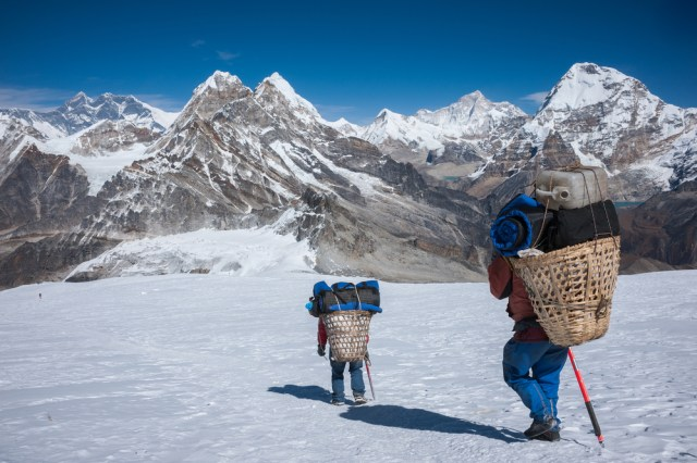 Sherpa di Gunung Everest