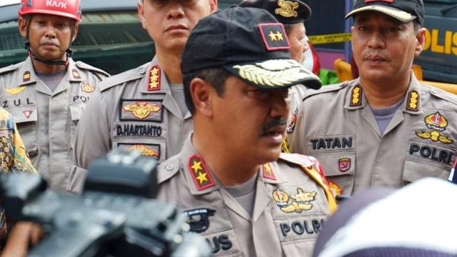 Kapolda Sumut Irjen Pol Agus Andrianto, Ledakan yang Menghancurkan 5 Ruko di Medan
