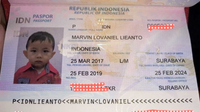 Paspor Baru Tidak Ada Tanda Tangan Lukisan