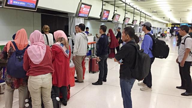 Heboh Virus Corona, Bandara Soekarno-Hatta Masih Dipadati 200 Ribu Penumpang (73143)