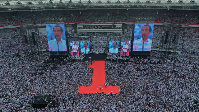 Kampanye akbar, Jokowi-Ma'ruf, GBK