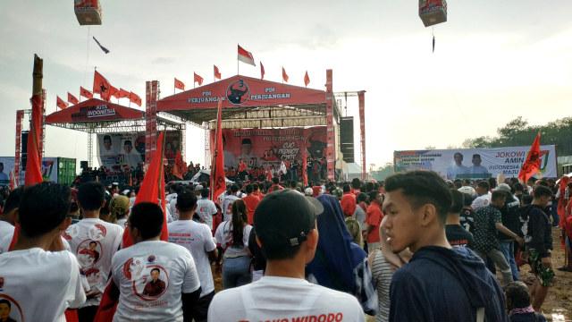 Walkot Semarang di Kampanye Akbar PDIP: Jangan Sampai Jokowi Dicurangi (536959)