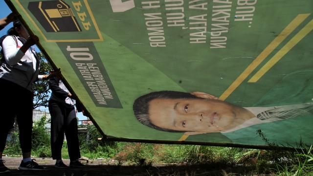 Penertiban Atribut Peraga Kampanye (APK), Bogor