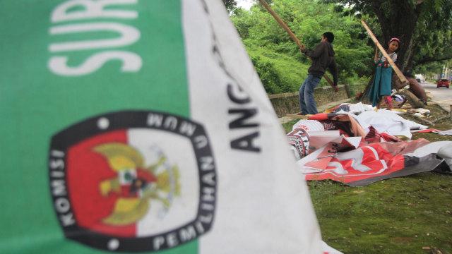 Penertiban Atribut Peraga Kampanye (APK), Sulawesi Tenggara