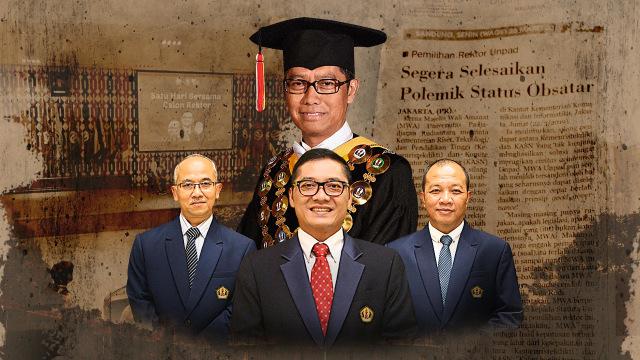 LIPSUS, Aroma Suap Rektor Unpad