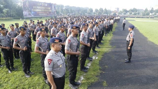 18.763 Personel TNI-Polri Disiagakan Jaga Keamanan Pemilu di Jatim (188906)