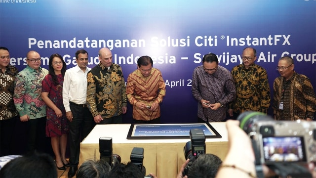 Kerja sama Garuda Indonesia dengan Citibank