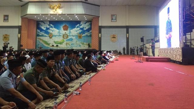Panglima TNI di Acara Doa Bersama Dalam Mewujudkan Pemilu Damai