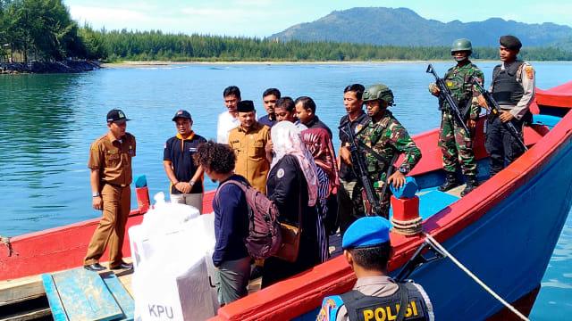 Cerita Distribusi Logistik Pemilu 2019 ke Pulo Aceh (1225135)