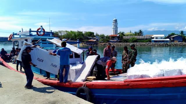 Cerita Distribusi Logistik Pemilu 2019 ke Pulo Aceh (1225138)