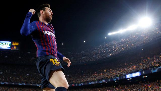 Barcelona vs United, Lionel Messi