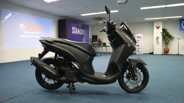 Otomotif, sepeda motor, LExi, Yamaha, motor baru