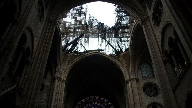 Kebakaran Katedral Notre Dame di Paris, Prancis
