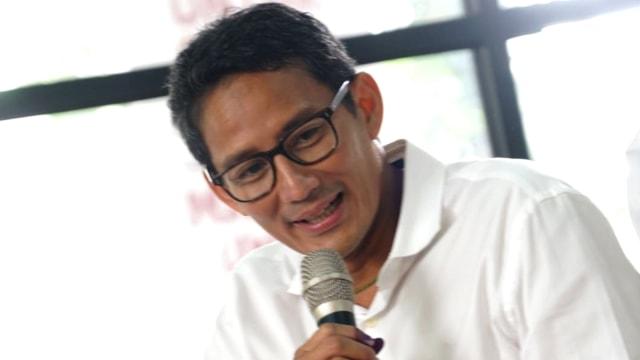 Sandi Ingin Jokowi dan Prabowo Bertemu Langsung, Tanpa Perantara (65241)