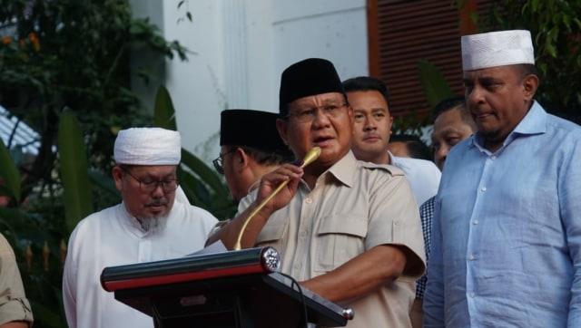 Kala Prabowo Deklarasikan Kemenangan 4 Kali (220018)