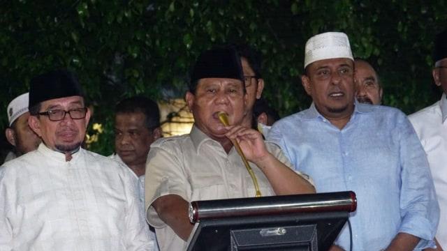 Kala Prabowo Deklarasikan Kemenangan 4 Kali (220020)