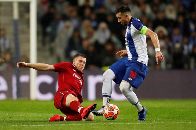 (NOT COVER) Porto vs Liverpool