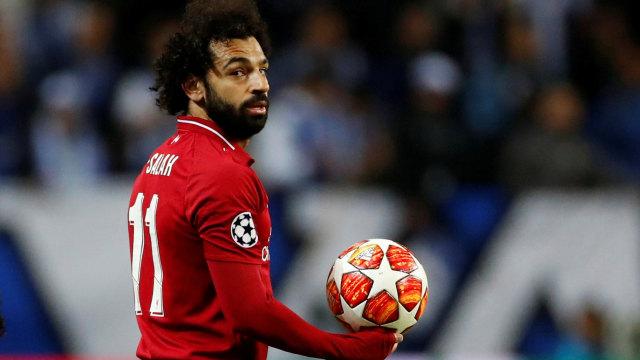 Porto vs Liverpool, Mohamed Salah