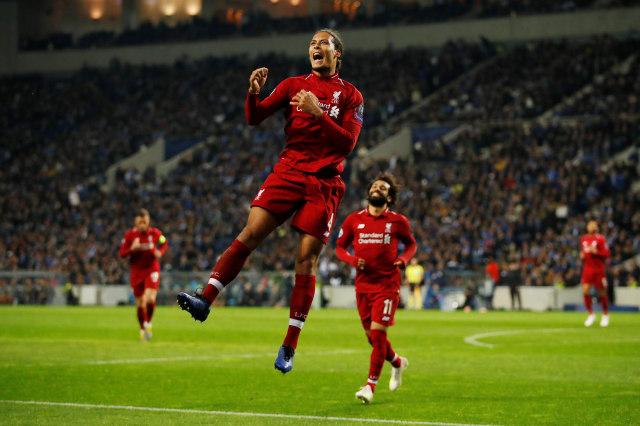 Porto vs Liverpool, Virgil van Dijk