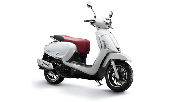 Otomotif, sepeda motor, kymco, like 150i, motor baru 2019
