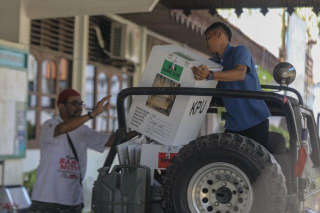 Kotak Suara di Banda Aceh Mulai Bergeser dari PPS ke PPK (9).JPG