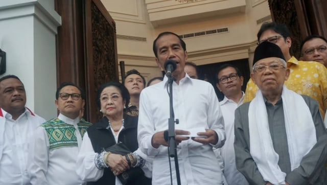 Konferensi pers, Joko Widodo, Plataran Menteng