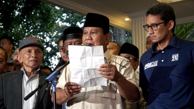 Kala Prabowo Deklarasikan Kemenangan 4 Kali (220023)