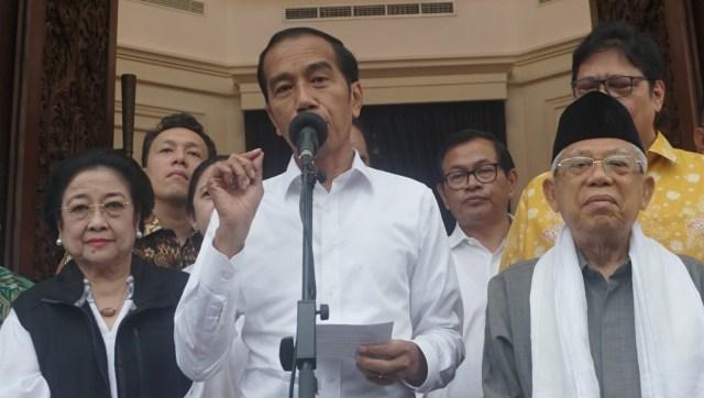 Jokowi Sebut Unggul Versi Quick Count: Akurasi 99% dengan Real Count (156301)