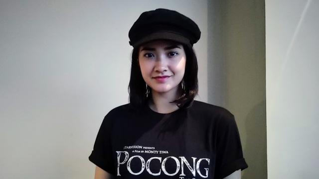 Nadya Arina, saat cinema visit film 'Pocong The Origin' di BTM 21