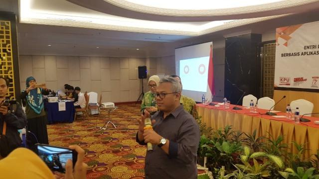 KPU cek lokasi proses situng di wilayah DKI Jakarta