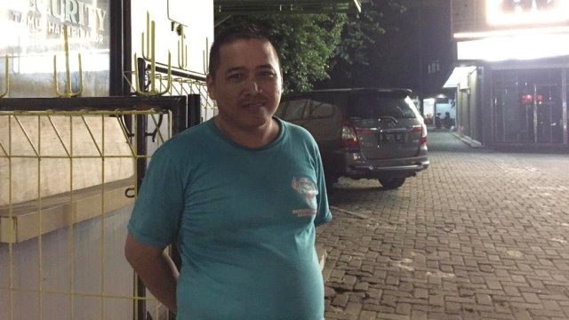 Irfan, security yang berada di tempat kejadian tabrakan beruntun di Tebet