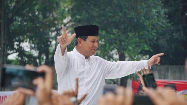Kala Prabowo Deklarasikan Kemenangan 4 Kali (220017)