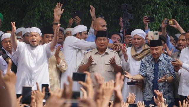 Syukuran kemenangan Prabowo Subianto- Sandiaga Uno