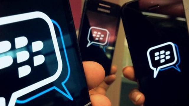 Ilustrasi BlackBerry Messenger