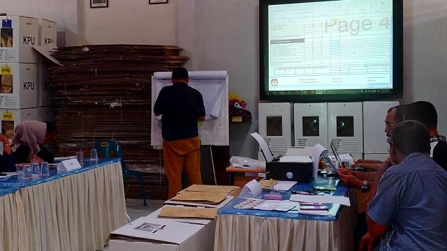 Suasana Rekap Suara Tingkat Kecamatan di Banda Aceh 4.jpg