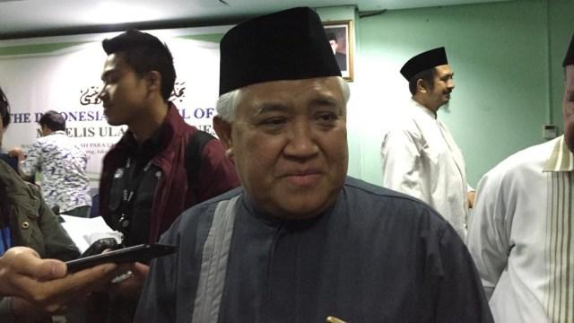 Din Syamsuddin: Politik Dinasti Melabrak UU (367150)