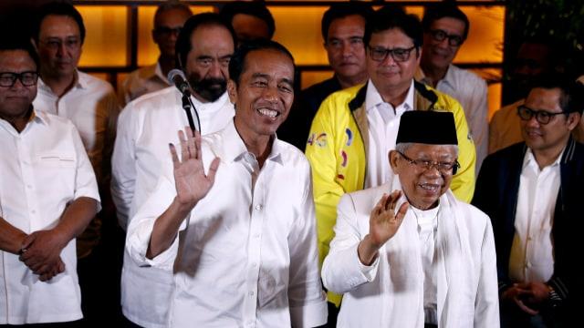 LIPSUS, Gusar Prabowo, Paslon capres-cawapres nomor urut 01 Jokowi-Ma'ruf Amin, Quick Count, Jakarta Theatre