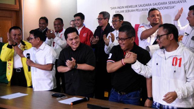 LIPSUS, Gusar Prabowo, TKN memberi Keterangan Pers di Rumah Cemara 19
