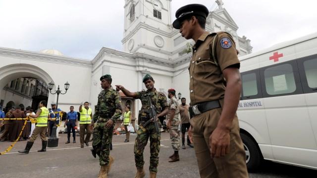Ledakan, Sri Lanka, Gereja, Hotel
