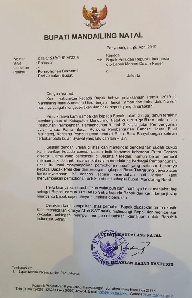 Bupati: Jokowi Kasih Kahiyang untuk Madina, Kenapa Tak Dihargai? (108584)