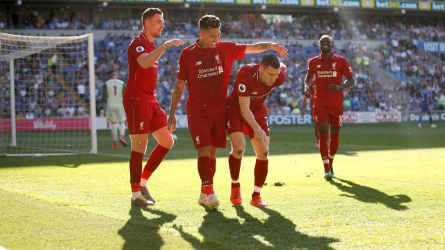 Liverpool melawan Cardiff City
