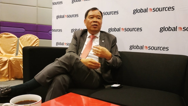 President of Global Sources Electronics Group, Tommy Wong.