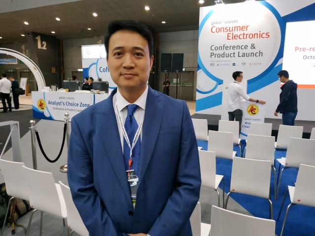 General Sales Manager Global Sources, Sam Hui.